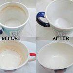 تمیز کردن لکه چای و قهوه روی فنجان