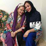 جدیدترین عکس بهاره رهنما و مادرش در کلینیک زیبایی