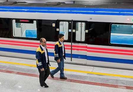 خودکشی دختر ۳۲ ساله در ایستگاه دروازه دولت مترو