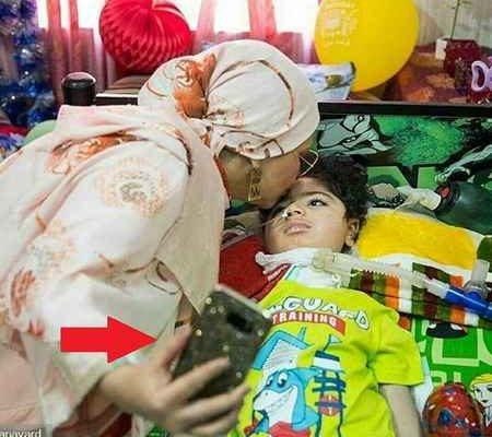 رسوایی بهنوش بختیاری بخاطر سلفی با کودک بیمار