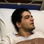 علت بستری شدن سینا شعبانخانی در بیمارستان چه بود؟