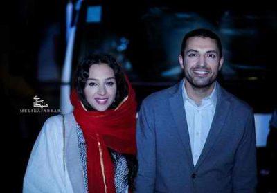 عکس اشکان خطیبى و همسرش در جشن خانه سینما 96