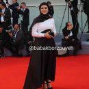 عکس باران کوثری در اختتامیه جشنواره فیلم ونیز