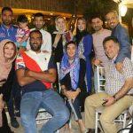 عکس بازیکنان فوتبال و بازیگران سینما در کافه جواد رضویان