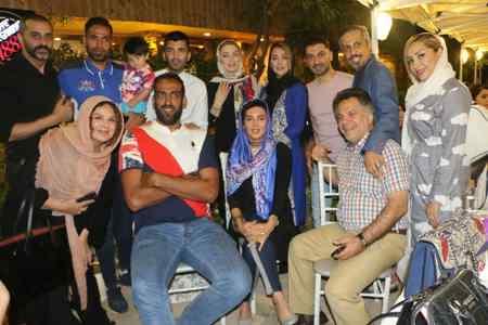 عکس بازیکنان فوتبال و بازیگران سینما در کافه جواد رضویان (2)