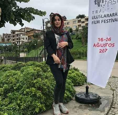 عکس جدید افسانه پاکرو در جشنواره فیلم ترکیه