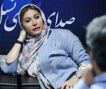 عکس جدید فریبا نادری در خبرگزاری برنا (1)