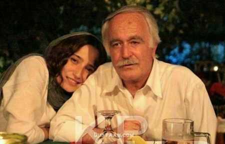 عکس جدید نگار جواهریان و پدرش