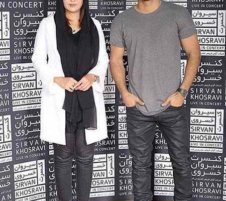 عکس جدید نیکی کریمی در کنسرت سیروان خسروی
