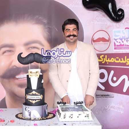عکس جشن تولد 30 سالگی بهنام بانی