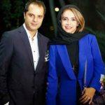 عکس شبنم قلی خانی و همسرش در موزه سینما