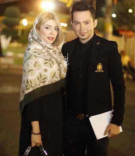 عکس شهنام شهابی و همسرش در جشن خانه سینما
