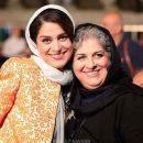 عکس غزل شاکری و مادرش فرشته طائرپور در جشن خانه سینما
