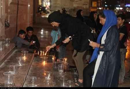 عکس مراسم یادبود دانش آموزان هرمزگانی در بندرعباس (2)