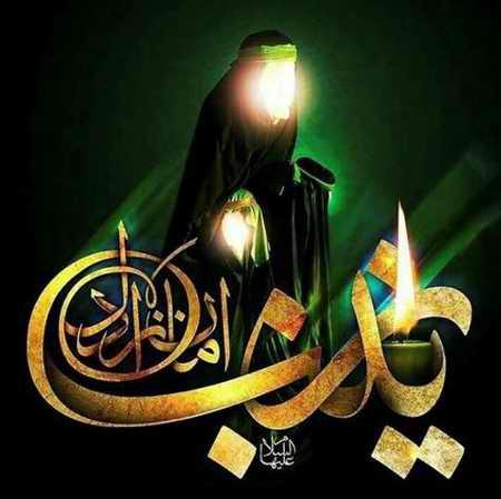 عکس نوشته حضرت زینب (س) در کربلا (7)