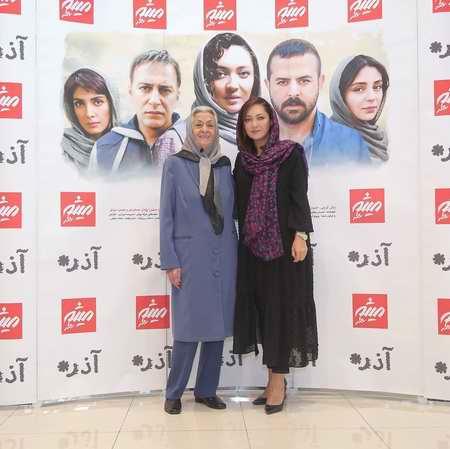 عکس نیکی کریمی و ژاله علو در مراسم جوایز فیلم آذر