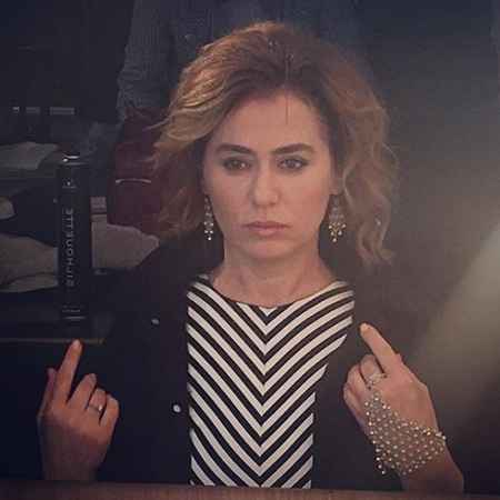 عکس های افتاده همسر عطا در سریال کاخ نشینان امروز (12)
