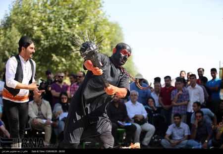 عکس های تئاتر خیابانی در مریوان (2)