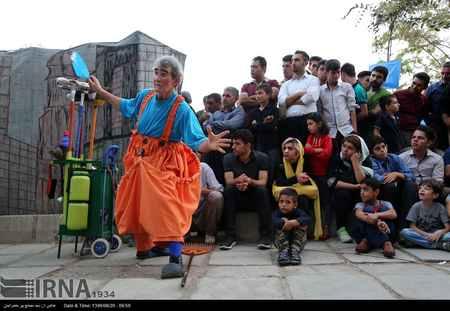 عکس های تئاتر خیابانی در مریوان (5)