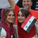 عکس های دختران بی حجاب سوریه در ورزشگاه آزادی (1)