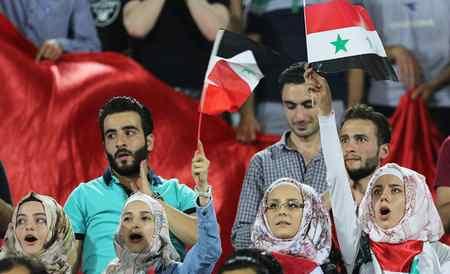 عکس های دختران بی حجاب سوریه در ورزشگاه آزادی (3)