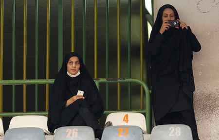 عکس های دختران بی حجاب سوریه در ورزشگاه آزادی (4)