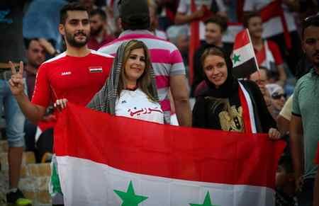 عکس های دختران بی حجاب سوریه در ورزشگاه آزادی (6)