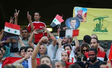 عکس های دختران بی حجاب سوریه در ورزشگاه آزادی (7)