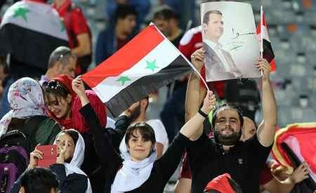 عکس های دختران بی حجاب سوریه در ورزشگاه آزادی (8)