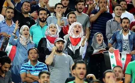 عکس های دختران بی حجاب سوریه در ورزشگاه آزادی (9)