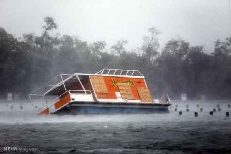 عکس های دلهره آور طوفان ایرما در فلوریدا (1)