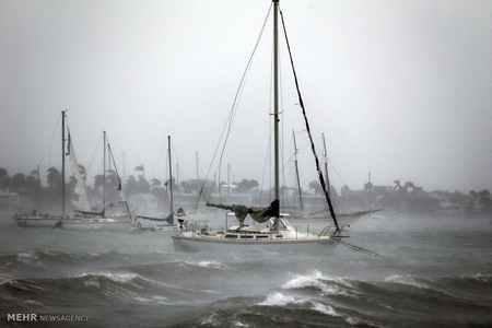 عکس های دلهره آور طوفان ایرما در فلوریدا 2 عکس های دلهره آور طوفان ایرما در فلوریدا