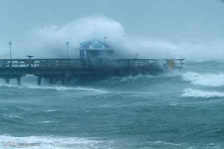 عکس های دلهره آور طوفان ایرما در فلوریدا 4 عکس های دلهره آور طوفان ایرما در فلوریدا