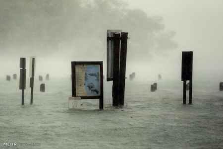 عکس های دلهره آور طوفان ایرما در فلوریدا 5 عکس های دلهره آور طوفان ایرما در فلوریدا