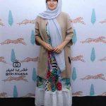 عکس گلوریا هاردی همسر خارجی ساعد سهیلی در جشنواره فیلم سبز