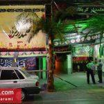 محله های تهران در آستانه فرا رسیدن ماه محرم 96