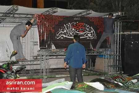 محله های تهران در آستانه فرا رسیدن ماه محرم 96 (12)