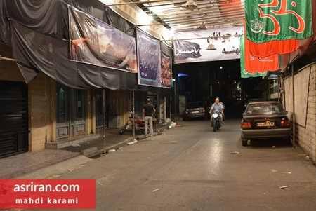 محله های تهران در آستانه فرا رسیدن ماه محرم 96 (4)