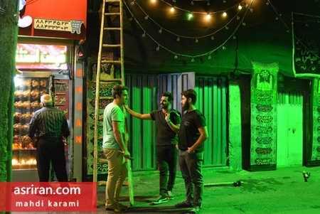 محله های تهران در آستانه فرا رسیدن ماه محرم 96 (7)