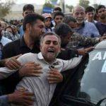 مراسم تشییع پیکر دانش آموزان حادثه داراب در بندرعباس