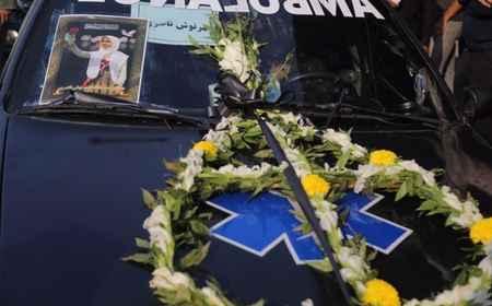 مراسم تشییع پیکر دانش آموزان حادثه داراب در بندرعباس (3)