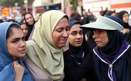 مراسم تشییع پیکر دانش آموزان حادثه داراب در بندرعباس (8)