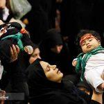مراسم شیرخوارگان حسینی در مصلی امام خمینی (ره)