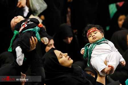 مراسم شیرخوارگان حسینی در مصلی امام خمینی (ره) (1)