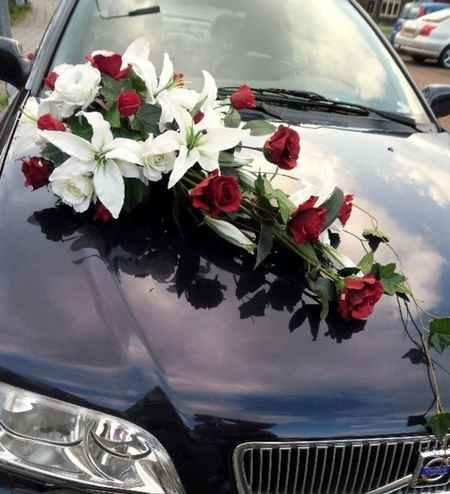 گل ماشین عروس جدید 2017 (1)