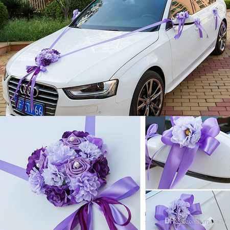 گل ماشین عروس جدید 2017 (3)