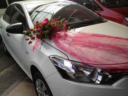 گل ماشین عروس جدید 2017 (8)