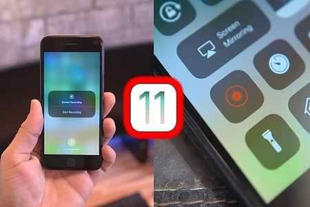 آموزش فیلمبرداری از صفحه نمایش در iOS 11 1 آموزش فیلمبرداری از صفحه نمایش در iOS 11