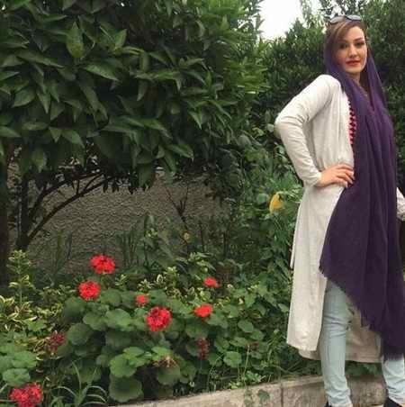 بهناز پورفلاح بازیگر و همسرش 1 - بیوگرافی بهناز پورفلاح بازیگر و همسرش