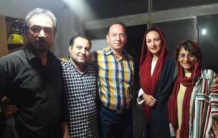 بهناز پورفلاح بازیگر و همسرش 14 - بیوگرافی بهناز پورفلاح بازیگر و همسرش